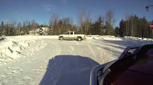 Trucks Drifting In Snow - YouTube
