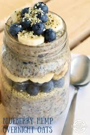 Pumpkin Pie Overnight Oats Buzzfeed by These Blueberry Hemp Overnight Oats Are Really Delicious They U0027re