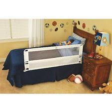Summer Infant Bed Rail by Summer Infant Double Safety Bedrail Blue Ebay