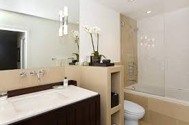 Modern Led Bathroom Sconces by Slim Led Sconce Contemporary Bathroom Lighting And Vanity Lighting