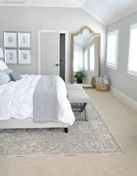 Neutral Master Bedroom Refresh Beige Walls