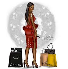 Fashion Drawings By Peneil Enchill Bomb Daily African American Sketches 7