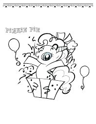 Coloring My Little Pony Pages Pinkie Pie And Rainbow Dash Kids Page Colouring