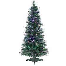 Fiber Optic Christmas Trees The Range by Sterling Inc Multi Style Fiber Optic 4 U0027 Green Artificial Christmas