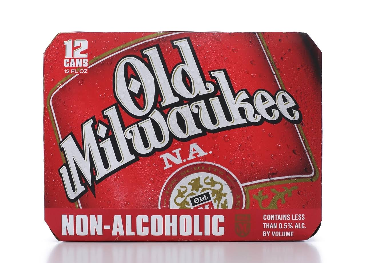 Old Milwaukee N.A. Non-Alcoholic Beer - 12oz, 12pk