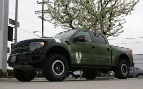 100 Truck From Gamer 2013 Ford F150 SVT Raptor Halo 4 Edition First Drive Photo Image