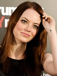 Emma Stones Wrist Tattoo
