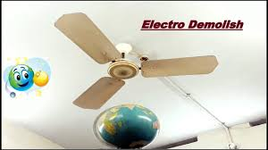 ceiling fan falling to earth globe perfect exle for high