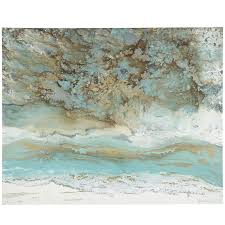 Exclusive Idea Pier One Wall Art With Coastal Air Abstract 1 Imports