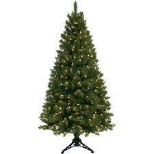 Pre Lit 6 Half Christmas Tree Green Clear Lights