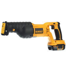 DEWALT 18 Volt Lithium Ion Cordless Reciprocating Saw Kit with