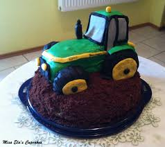 miss ela s cupcakes meine traktor torte