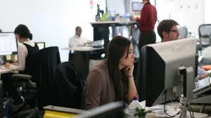 travailler dans les bureaux aménagement des bureaux en open space l express l entreprise