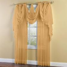 Brylane Home Sheer Curtains by Jcp Home Snow Voile Semi Sheer Scarf Valance Jcpenney Wedding