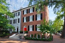 100 Modern Townhouses Federal Style Townhouse With Restored Exterior And