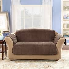 World Market Luxe Sofa Slipcover Charcoal by Fresh Free Leather Sofa Loveseat Slipcovers 21136