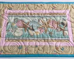 seashell table decor etsy