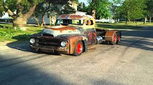 Rat Rod Old School Diesel Mini Semi Powerstroke - YouTube