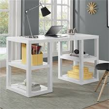 Ameriwood Computer Desk With Shelves by Writing Desk In White 9318596com