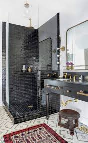 shiny or matte bathroom tiles inspirational best black bathrooms