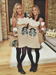 DIY Starbucks Pumpkin Spice Latte Costume Tutorial