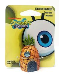 Spongebob Aquarium Decor Amazon by Amazon Com Penn Plax Spongebob Squarepants Mini Pineapple House