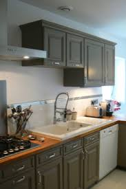 cuisine grise plan de travail bois plan pour cuisine cheap plan de travail pour cuisine with plan pour