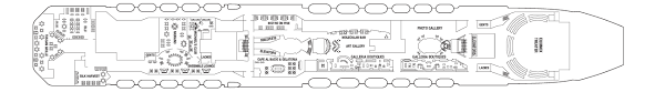 Celebrity Equinox Deck Plan 6 by Celebrity Equinox Vision Cruise
