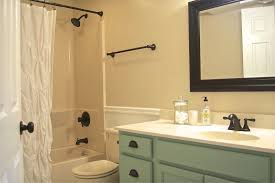 Bathroom: Beautiful Small Bathroom Makeover Decoration Using White ... Bathroom Vanity Makeover A Simple Affordable Update Indoor Diy Best Pating Cabinets On Interior Design Ideas With How To Small Remodel On A Budget Fiberglass Shower Lovable Diy Architectural 45 Lovely Choosing The Right For Complete Singh 7 Makeovers Home Sweet Home Outstanding Light Cover San Menards Black Real Bar And Bistro Sink Pictures Competion Pics Bathrooms Spaces Decor Online Serfcityus