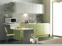 Very Small Kitchen Table Ideas by Creamy Contemporary Kitchen Furniture With Floating Hazy Glow
