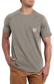 100 Carhart On Sale T Mens Force Cotton Delmont Short Sleeve TShirt