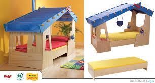 cabane chambre lit cabane la de tom haba meubles chambre d enfant et