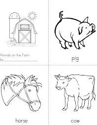 Animals On The Farm Book