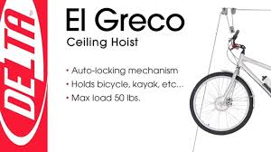 Ceiling Bike Rack Canadian Tire by El Greco Bicycle Ceiling Hoist
