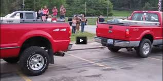Ohio Redneck Stock Pickup TUG OF WAR Battle! Very Funny Break That ...