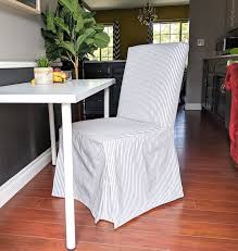 SALE Gray Ticking Stripe IKEA HENRIKSDAL Seat Cover Quickcover Ticking Stripe Relaxed Fit Long Box Pleat Parsons Chair Slipcover Simple And Streamlined The Chair Slipcover Updated Ikea Counter Stools With Bar Stool Slipcovers Refreshing Easy Diy Striped That Exude Pleated Ottoman Howto Sincerely Marie Designs Ruffled Amazoncom Linen Seat Cover On 4 Sides Sure One Piece Henriksdal Ding Skirt How To Sew A For Ikea Henriksdal Sebago Slipcovered Arm Host Chairs Ethan