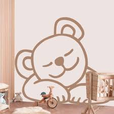 stickers ours chambre bébé stickers ours free with stickers ours simple sticker carru