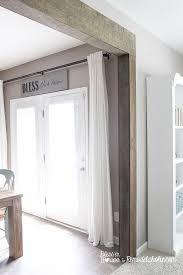 Patio Door Curtain Ideas by Best 25 Patio Door Coverings Ideas On Pinterest Patio Door