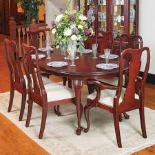 Cherry Wood Dining Chairs Room Set Ebay F 7