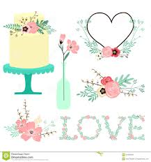 Illustration Clipart Wedding Flower 8
