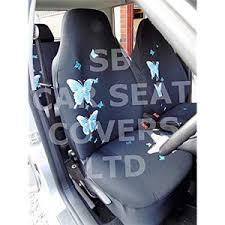 volkswagen golf 3 car housse de siège bleu papillon c1569