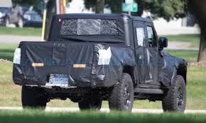 SPOTTED: Production-Spec Jeep Wrangler Truck: - Mopar Insiders 2019 Jeep Wrangler Pickup Designed For Pleasure And Adventure Youtube Jt Truck Testing On Public Roads Shows Spare Tire Mount Reviews Price Photos Unwrapping The News Ledge Scrambler Interior 2018 With Pictures Car The New Is Called And It Has Actiontruck Jk Cversion Kit Teraflex Overview Auto Trend Youtube Diesel