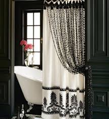 Brylane Home Bathroom Curtains by Curtain Elegant Bathroom Decorating Ideas With Bathroom Shower