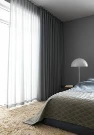 fensterverdunkelung schlafzimmer durchsichtige