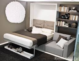 schlafzimmer interieur mit einem sofa anstelle eines bettes