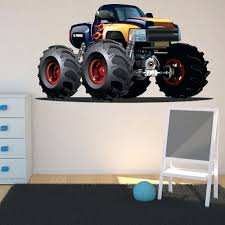 Monster Wall Decal Black Yellow Monster Truck Wall Sticker Vehicle ... Cars Wall Decals Best Vinyl Decal Monster Truck Garage Decor Cstruction For Boys Fire Truck Wall Decal Department Art Custom Sticker Dump Xxl Nursery Kids Rooms Boy Room Fire Xl Trucks Stickers Elitflat Plane Car Etsy Murals Theme Ideas Racing Art