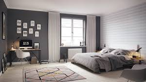 bedroom Artistic Scandinavian Bedroom And Decor Thinkter Then
