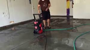 Valspar Garage Floor Coating Kit Instructions by Garage Floor Prep For Epoxy Painting Youtube