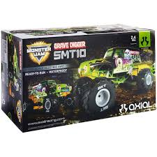 Amazon.com: AXIAL SMT10 Grave Digger Monster Jam 4WD RC Monster ... Remote Control Grave Digger Monster Jam Truck By Traxxas Grave Digger Rc 18 Scale 44 Radio By No Limit World Finals At Diggers Dungeon Video Buy New Bright 143 Top 8 Fantastic Experience Of This Years Rc Cars Webtruck 116 Replica Review Truck Stop Car 110 Ff 4x4 Mini Hot Wheels Giant Vehicle Big W Regarding Monster Truck Race Racing Monstertruck Fs
