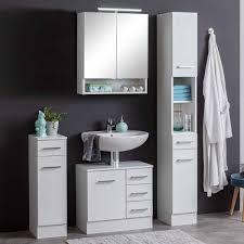 möbeleinrichtung fürs bad in weiß skiranov 4 teilig
